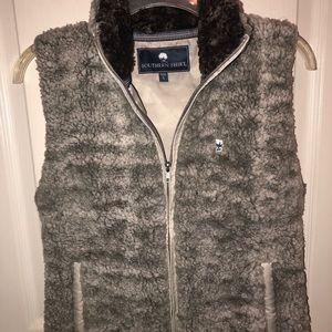 Southern Shirt Co furry vest